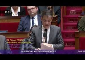 Actes antisémites – Intervention d'Olivier Faure