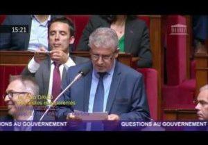 Alain David interpelle le Gouvernement sur le respect de la séparation des pouvoirs