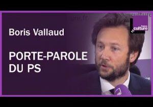 Boris Vallaud dans la matinale de France culture