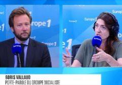 Boris Vallaud, invité de la matinale d'Europe 1