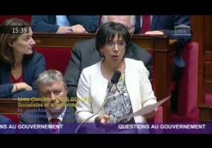 C.Pires Beaune interpelle le Gouvernement sur la maltraitance dans les EHPAD