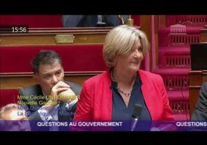Cécile Untermaïer alerte le Gouvernement sur le manque de moyens dans les hôpitaux