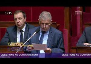 Colère des pompiers – Question d'Alain David