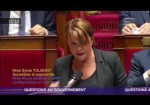 Crise dans les urgences – Question de Sylvie Tolmont