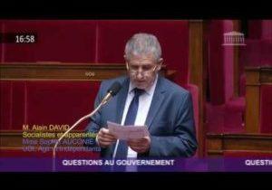 Déontologie au gouvernement – Question d'Alain David