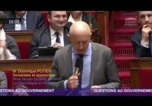 Fin des paradis fiscaux – Question de Dominique Potier