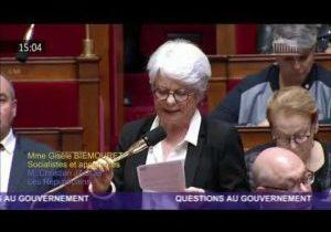 Hopitaux de proximité – Question de Gisèle Biemouret