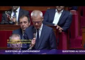 Incendie de Lubrizol à Rouen – Question de Christophe Bouillon