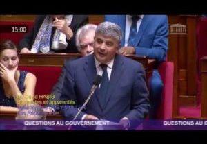Inondations dans l'Aude : la question au Gouvernement de David Habib