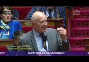 Investissements dans la transition écologique : la question au Gouvernement de D.Potier