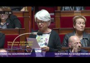 Journée mondiale du refus de la misère : la question au Gouvernement de G.Biemouret