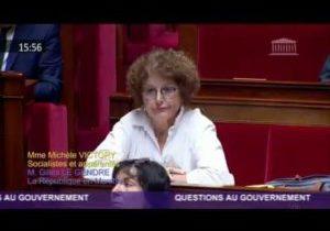 Malaise des enseignants – Question de Michèle Victory