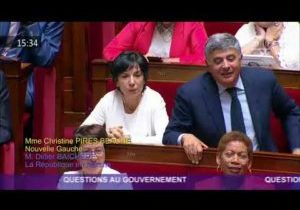 Minima sociaux : la question au Gouvernement de Christine Pires-Beaune