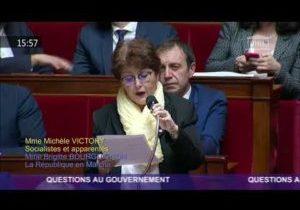 Mobilisation des enseignants – Question de Michèle Victory