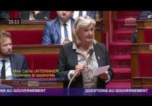 Morale publique – Question de Cécile Untermaier