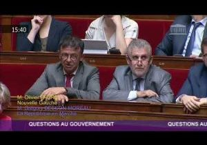 Question au Gouvernement d'Olivier Faure sur l'affaire Benalla