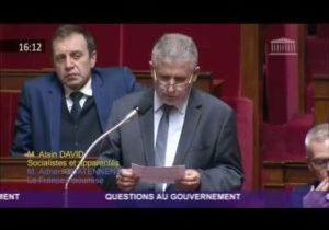 Question d'Alain David – Réforme de l'assurance-chômage
