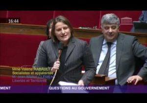 Réforme des retraites – Question de Valérie Rabault