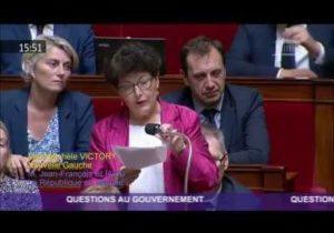 Réforme du lycée professionnel: la question au Gouvernement de Michèle Victory