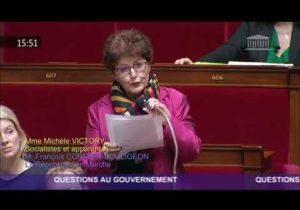 Situation en Algérie – Question de Michèle Victory