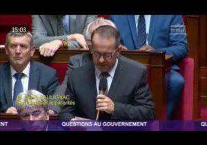 Tuerie à la Préfecture de Police – Question d'Hervé Saulignac