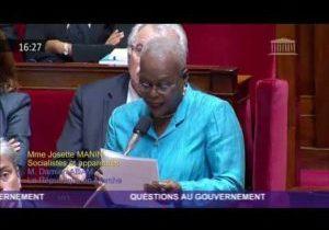 Violences en Martinique – Question de Josette Manin