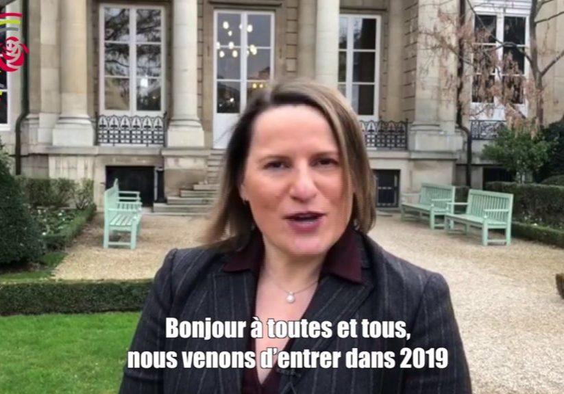 Voeux 2019 de Valérie Rabault